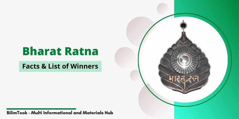 Bharat Ratna - Facts & List of Winners (1954 to 2019)