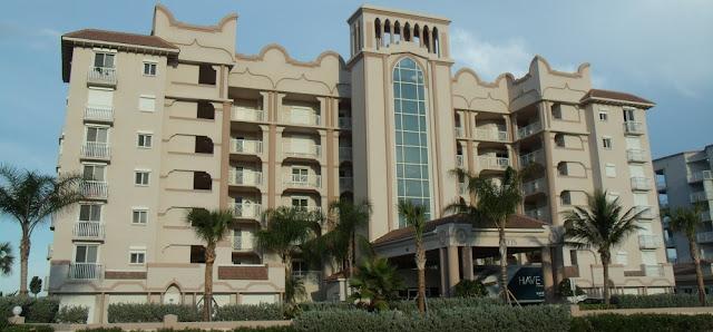 Edificios de apartamentos en las barrier islands