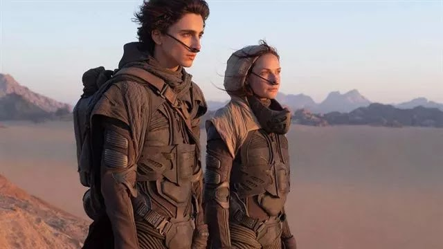 Dune: Timothée Chalamet and Josh Brolin