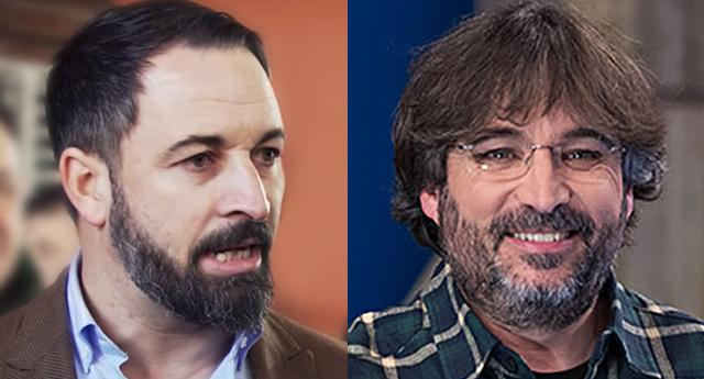 Abascal entra en cólera tras un jocoso comentario de Jordi Évole