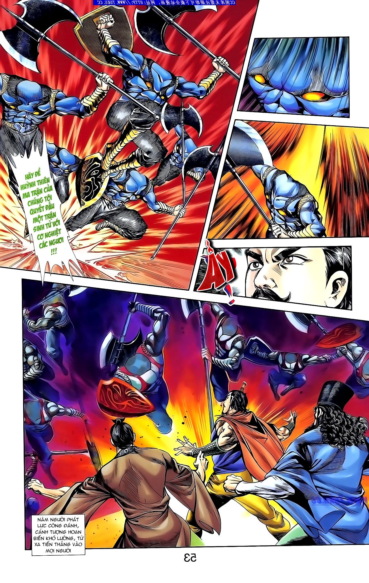 Cơ Phát Khai Chu Bản chapter 134 trang 5