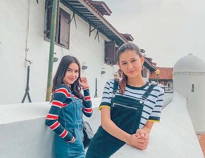 Zoe Abbas Jackson dan Bella Nurmala