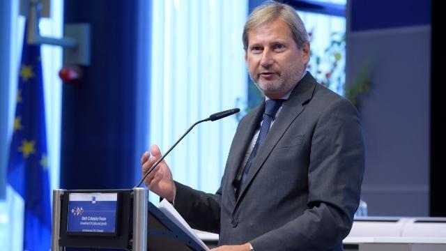 Hahn in Skopje: Mazedonien braucht dringend neue Regierung