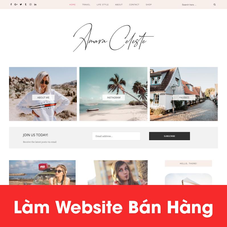 [A121] Trọn gói dịch vụ thiết kế website chuyên nghiệp giá rẻ nhất