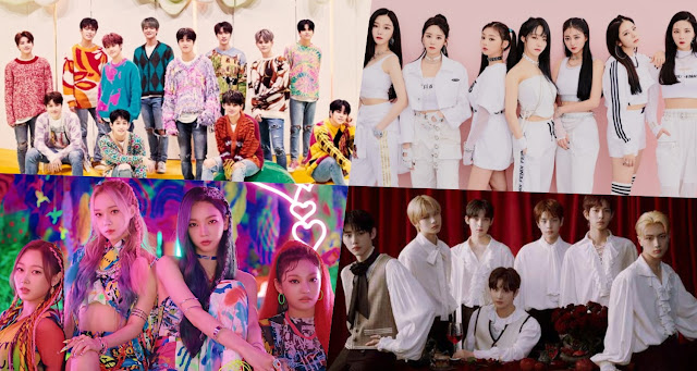 cuarta generacion kpop 2020