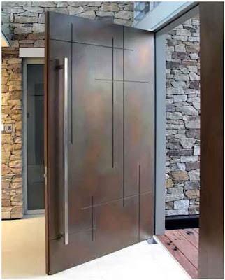 model pintu minimalis modern kontemporer