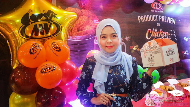 Majlis Product Preview Untuk Chicken Fiesta A&W Malaysia