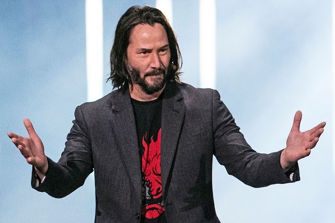 Five Beautiful Reasons We Can't Help But Fall In Love With Keanu Reeves.