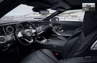Nội thất Mercedes S500 Cabriolet 2018 màu Đen 961