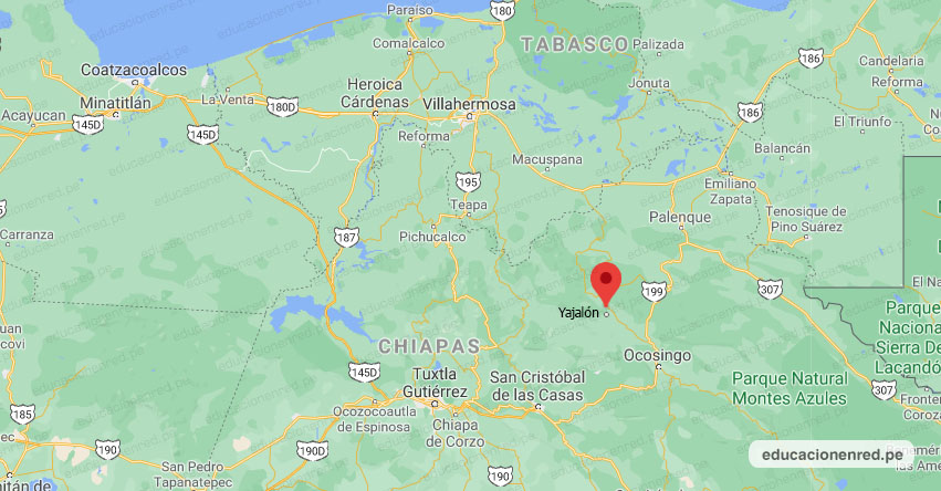 Temblor en México de Magnitud 5 (Hoy Domingo 29 Noviembre 2020) Terremoto - Sismo - Epicentro - Yajalón - Chiapas - CHIS. - SSN - www.ssn.unam.mx
