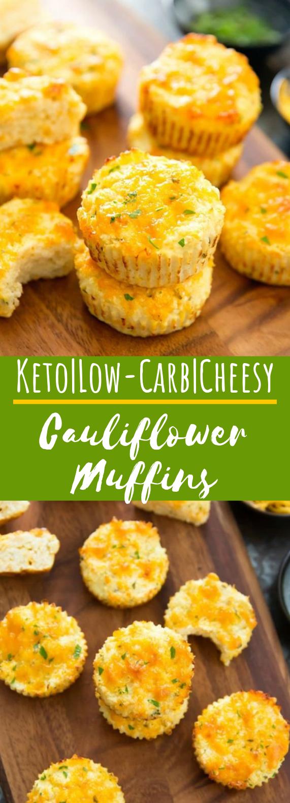 Cauliflower Muffins #appetizers #keto