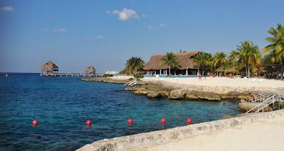 Karibik vor Chankanaab, Cozumel