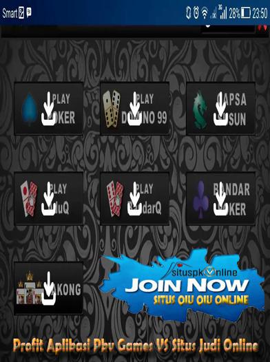 Profit Aplikasi Pkv Games Vs Situs Judi Online