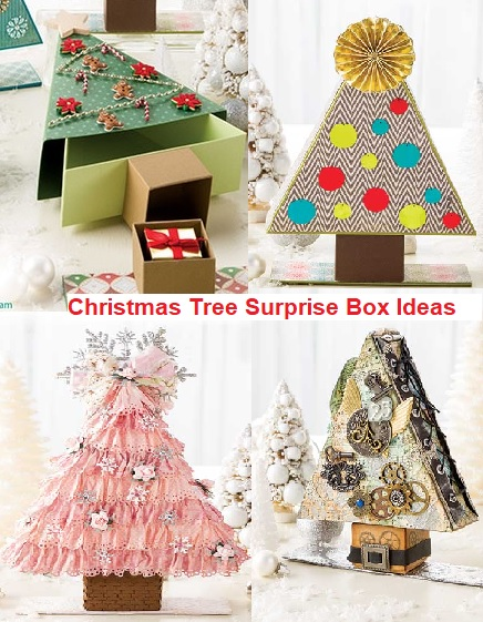 Christmas Tree Surprise Gift Box