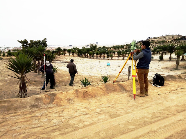 Casas de Playa - Levantamiento Topográfico