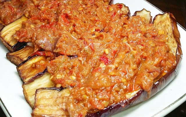 resep terong, resep sunda, resep pedas, resep masakan indonesia, resep terong goreng