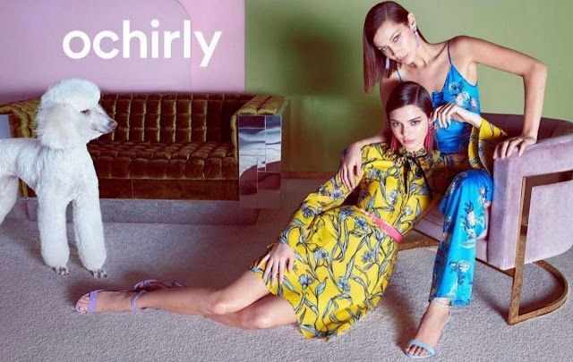 Bella Hadid & Kendall Jenner Ochirly's Spring Summer 2018 Campaign