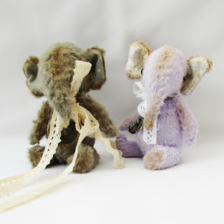 Cuthbert and Ellie Artist Elephant Bears.