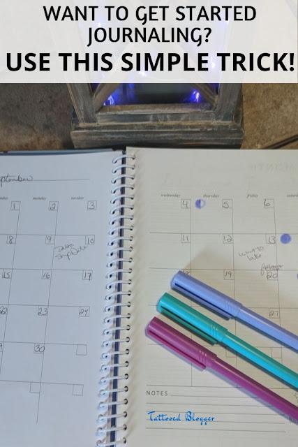 How to start journaling.