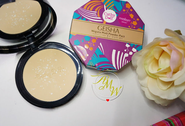 a photo of Cathy Doll Geisha Niigata Malt Powder Review