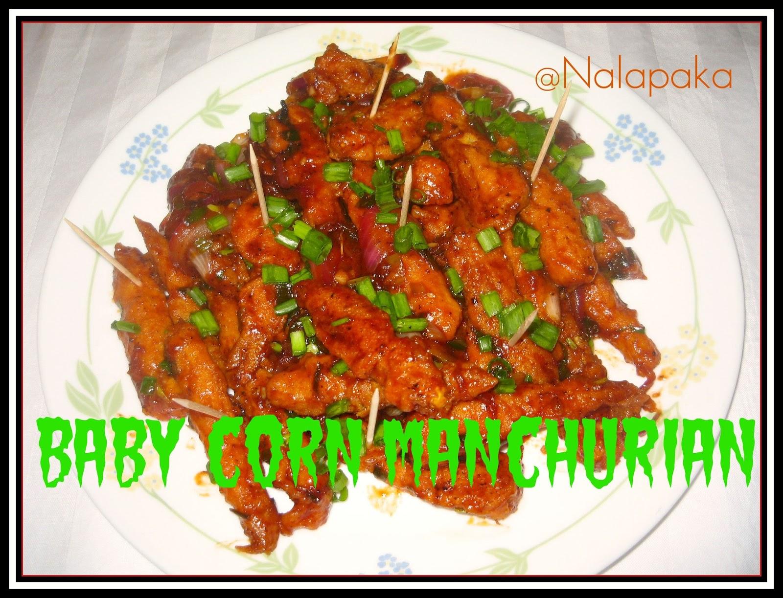 Corn Manchurian Hebbar S Kitchen