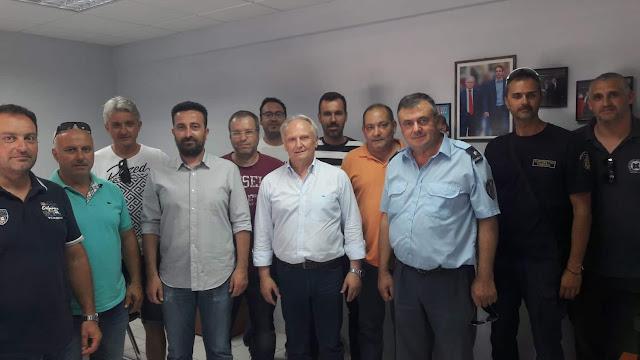 Τους εργαζόμενους στις φυλακές Ναυπλίου και Τίρυνθας επισκέφθηκε ο Γιάννης Ανδριανός