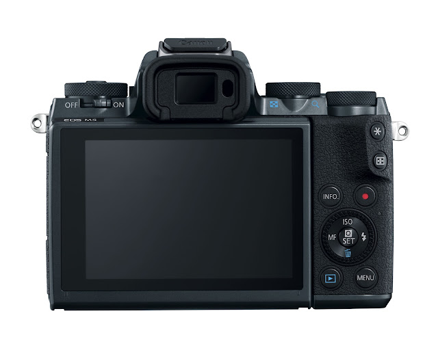 Canon EOS M5 Mirrorless Camera Back / LCD View