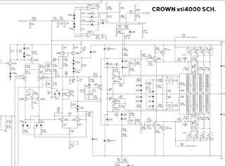 Crown xti4000 schematic download
