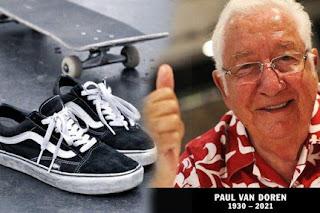 Biografi Pendiri Sepatu Vans Paul Van Doren