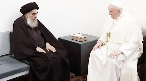 The secret of the meeting between the Pope and the Ayatollah
