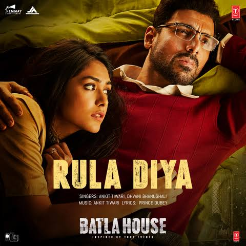 Rula Diya Sad Love Song Lyrics, Sung By Ankit Tiwari and Dhvani Bhanushali.