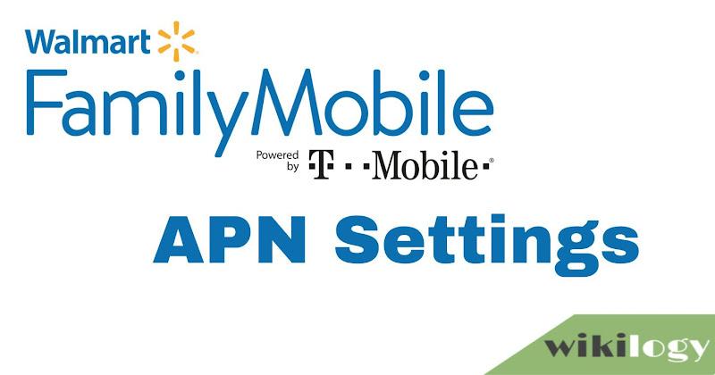 Family Mobile APN Settings