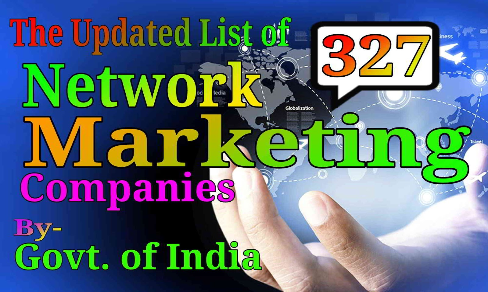 Provisional List of 327 Direct Selling/Network Marketing Entities