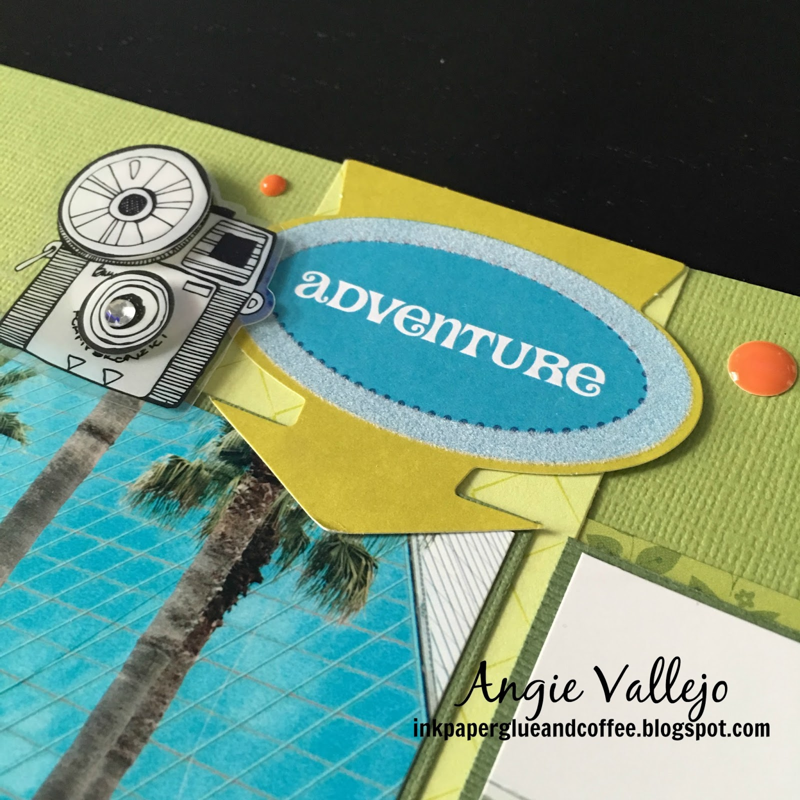 Scrapbook theme ideas - It S Just A Little Something That Brings The Reader Back To The Theme Anything Can Be Used For An Icon For My Oldest Son S School Album I Incorporated