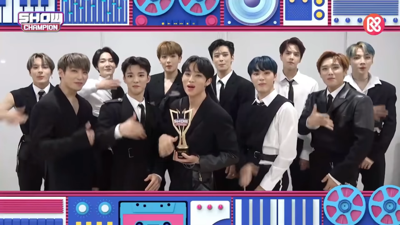 The Boyz Bring Home First Trophy For 'The Stealer', Congratulations!