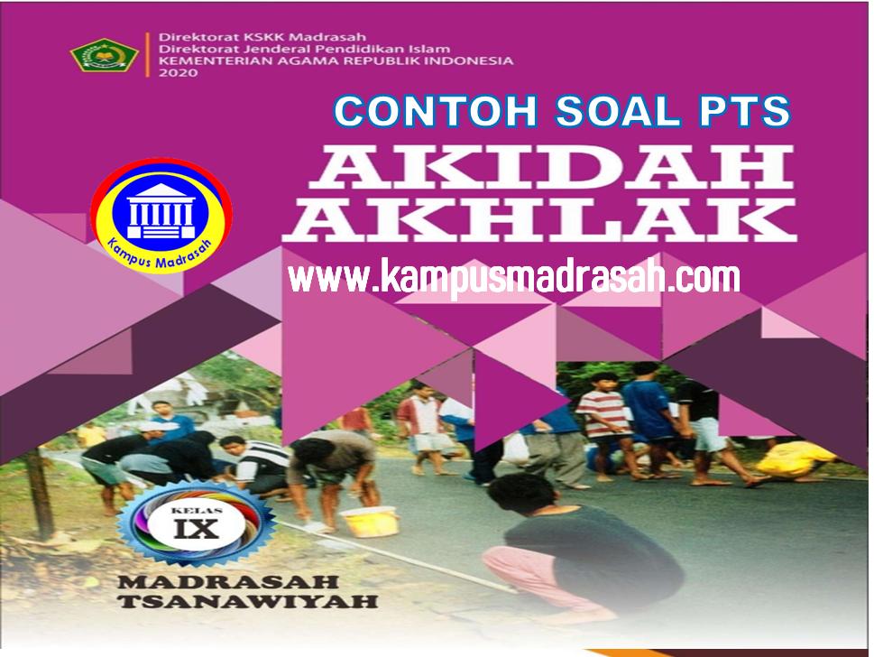 Soal PTS Akidah Akhlak Semester 2 Kelas 9