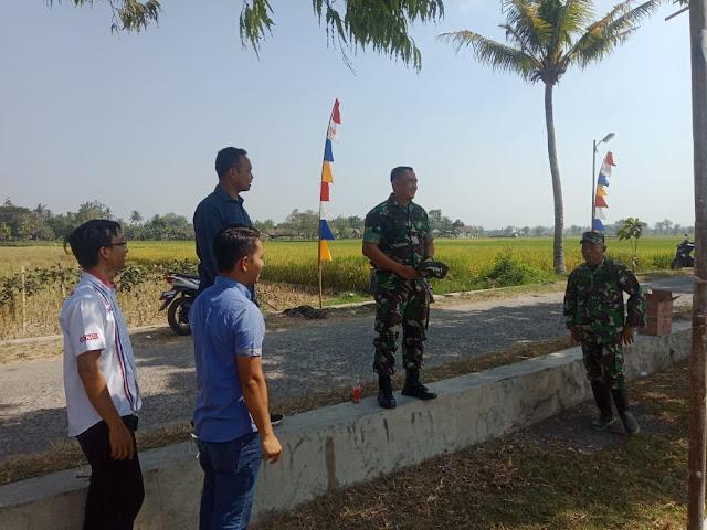 Dandim Klaten Turun Langsung Cek Kesiapan Lapangan Upacara Pembukaan TMMD Reg 105