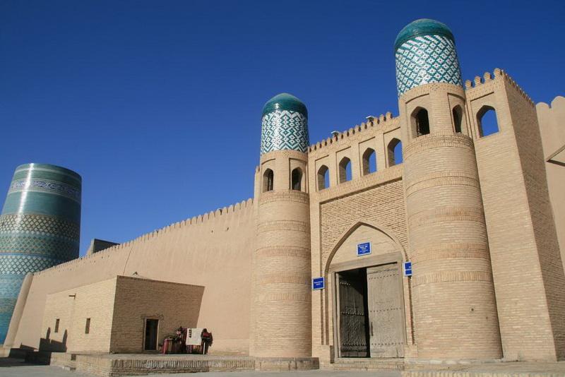 Kunya-Ark in Khiva