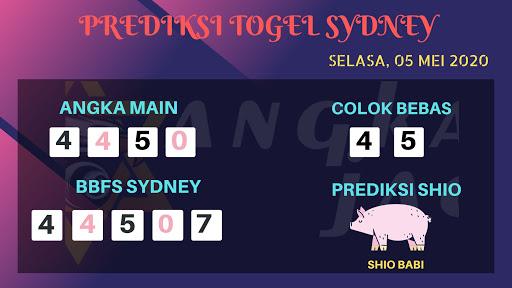 Syair Sydney 05 Mei 2020 - Prediksi Angka Jadi