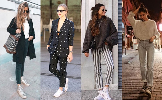 28 OUTFITS WITH CONVERSE Falling for A