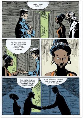 CORTO MALTÉS. EL DÍA DE TAROWEAN de Díaz Canales y Rubén Pellejero - comic