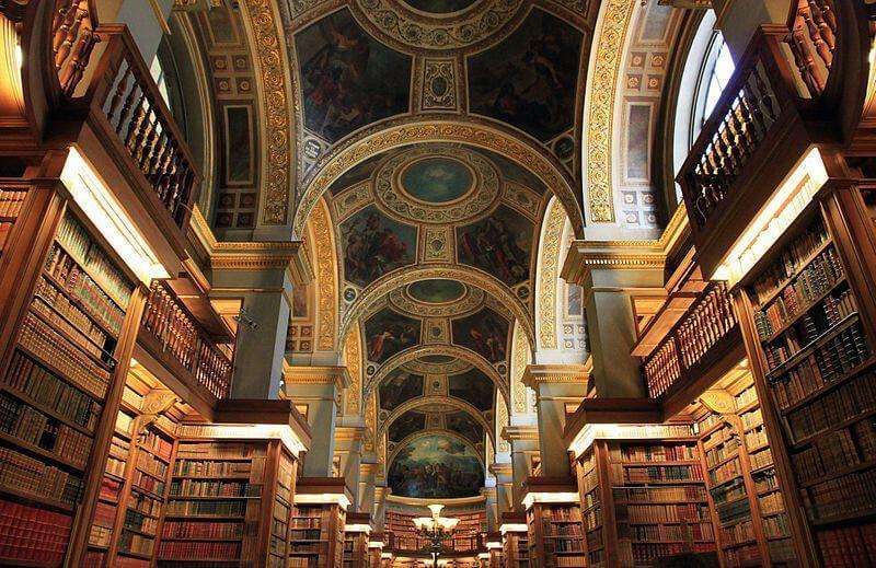 Biblioteca da Assembleia Nacional, Paris