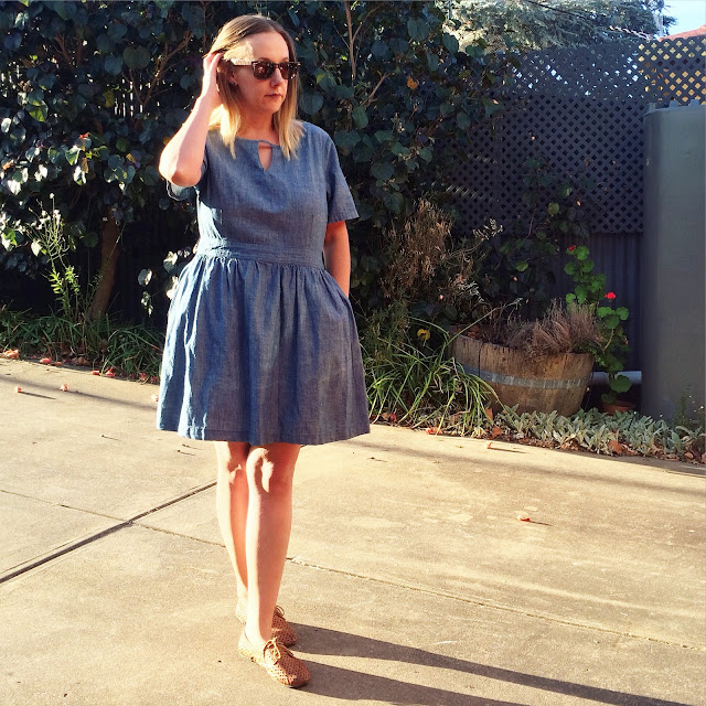 Lee Cooper Chambray dress | Almost Posh