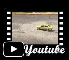 Vídeo Mini VW Passat de controle remoto (carroceria artesanal)