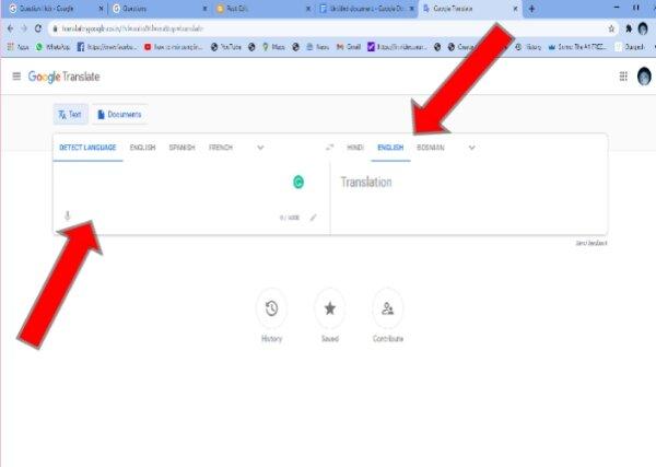 kya hindi mein blog ko likhkar english language mein Translate kar sakte hain- ब्लॉग आर्टिकल हिंदी में लिखकर इंग्लिश में कैसे ट्रांसलेट करें