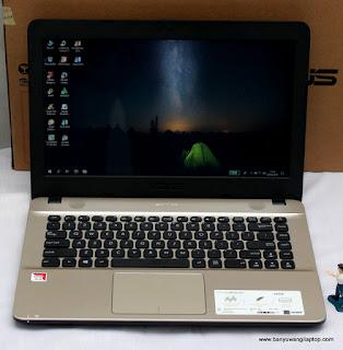 Jual Laptop Asus X441B AMD A4 Bekas di Banyuwangi