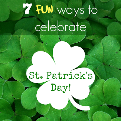 While I'm Waiting...7 FUN ways to celebrate St. Patrick's Day!