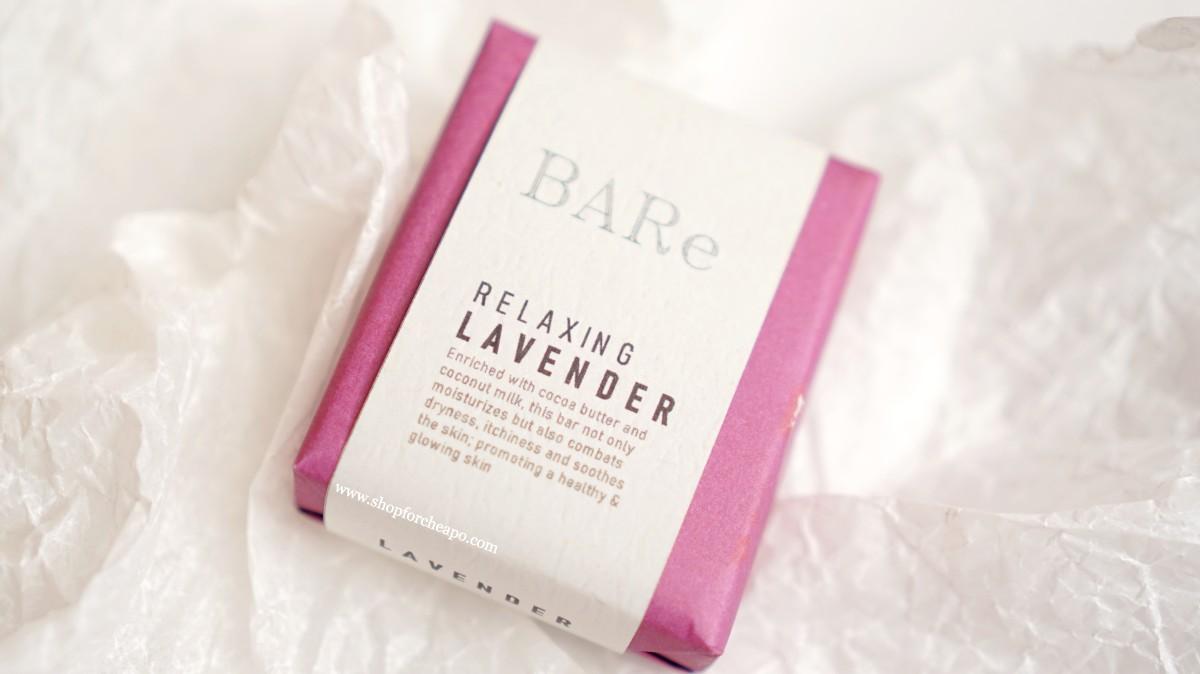 kemasan sabun lavender warna fuchsia