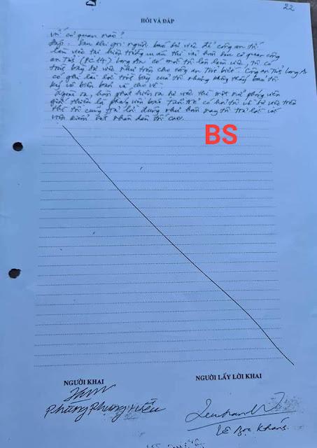 Chấn động: Người phát hiện đầu tiên vụ án Hồ Duy Hải không ký tên trong hồ sơ vụ án