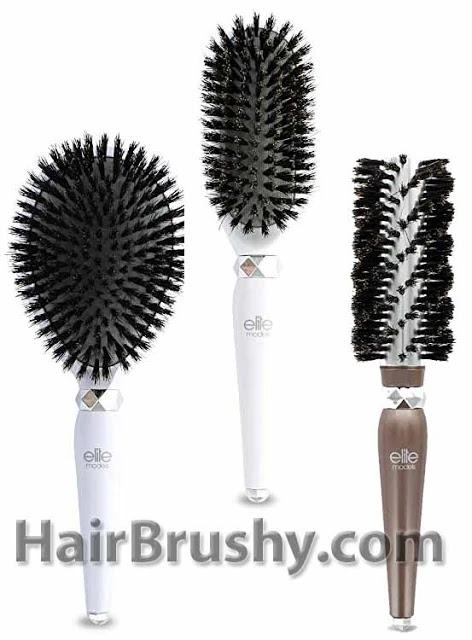 Elite Models Boar Bristle Brush